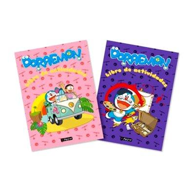 Libros de actividades Doraemon 29x21cm