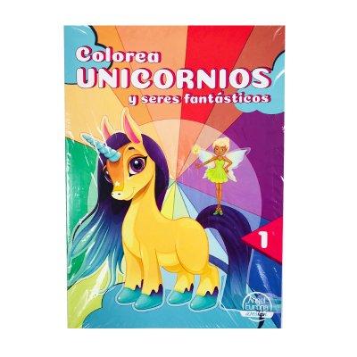 Wholesaler of Libros colorea Unicornios 30x20cm