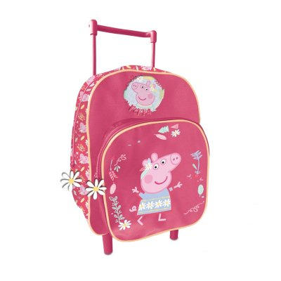 Mochila Trolley infantil Peppa Pig 30cm