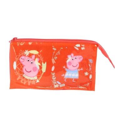 Wholesaler of Estuche 3 compartimentos 22x12cm Peppa Pig