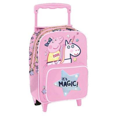 Mochila Trolley infantil Peppa Pig Unicornio