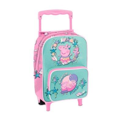 Mochila Trolley infantil Peppa Pig Mar