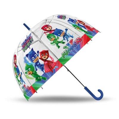 Paraguas transparente manual PJ Masks 48cm