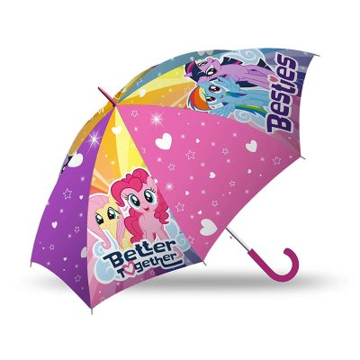 Paraguas transparente manual My Little Pony 45cm