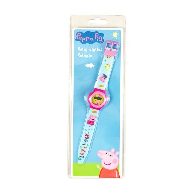 Reloj digital Peppa Pig 22cm
