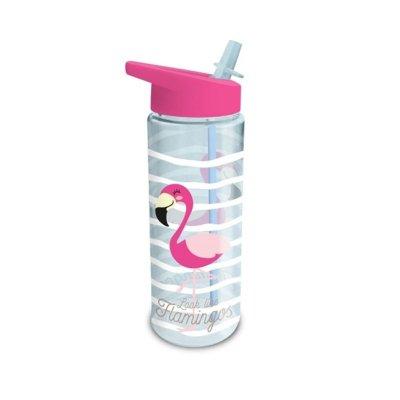 Botella de agua 500ml Flamenco