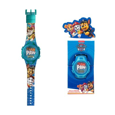 Reloj digital Paw Patrol Team