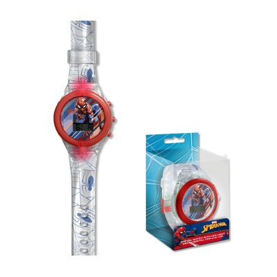 Reloj digital Spiderman c/luz LED