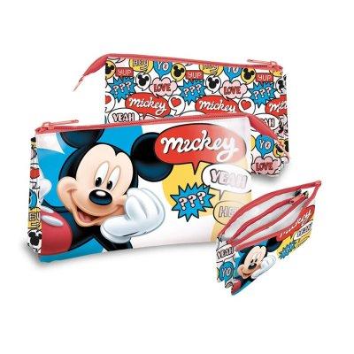 Estuche triple Mickey Mouse Disney