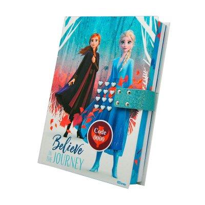 Diario secreto c/código Frozen 2 Disney