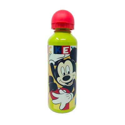 Botella aluminio 500ml Mickey Mouse - verde