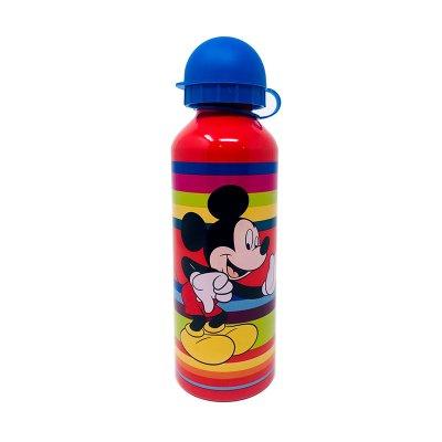 Botella aluminio 500ml Mickey Mouse - rojo