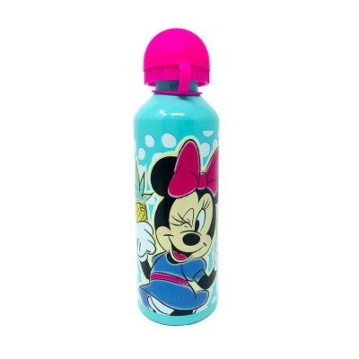 Botella aluminio 500ml Minnie Mouse - verde
