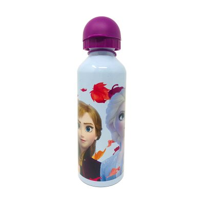 Botella aluminio 500ml Elsa & Ana Frozen