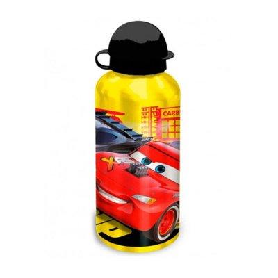 Botella aluminio 500ml Cars - amarillo