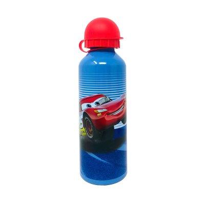 Botella aluminio 500ml Cars - azul