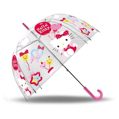 Paraguas cúpula automático Hello Kitty 48cm