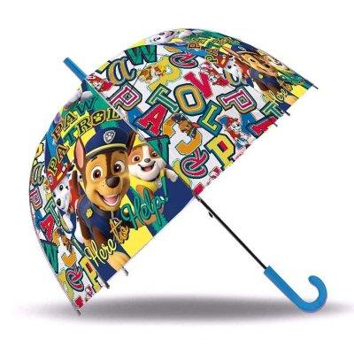Paraguas cúpula transparente Paw Patrol 46cm