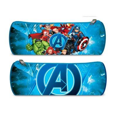 Estuche cilíndrico Los Vengadores Marvel 22cm