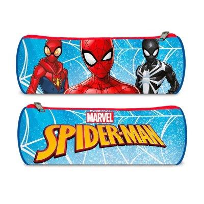 Estuche cilíndrico Spiderman 22cm