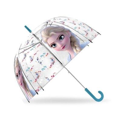 Paraguas cúpula automático Elsa Frozen 46cm