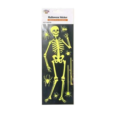 Wholesaler of Pegatinas decorativas Fluorescentes Esqueleto Halloween