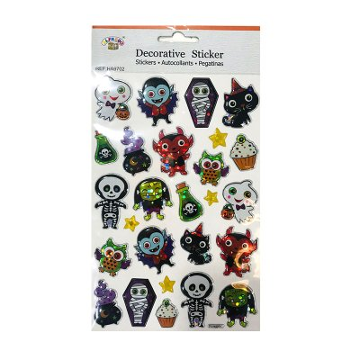 Wholesaler of Pegatinas 3D Monstruos Halloween