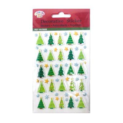 Pegatinas 3D Árbol de Navidad