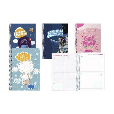 Wholesaler of Agenda escolar sin año A5 2 Días Página