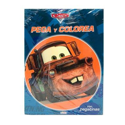 Wholesaler of Libros Pegacolor Cars 21x28cm 8 páginas