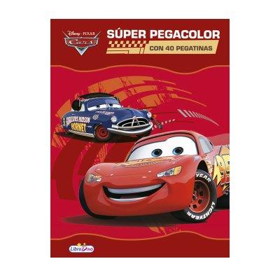 Wholesaler of Libros Pegacolor Cars 21x28cm 40páginas
