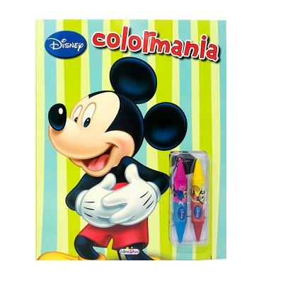 Libro Colormania Mickey Disney