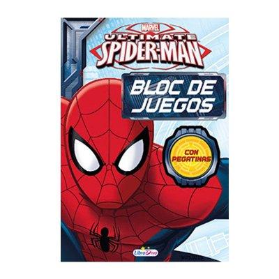 Wholesaler of Bloc Juegos Pegatinas Spiderman 13x19cm 128 pg 2 adhesivas