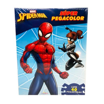 Wholesaler of Libros Super Pegacolor Spiderman 21x28cm 40pgs