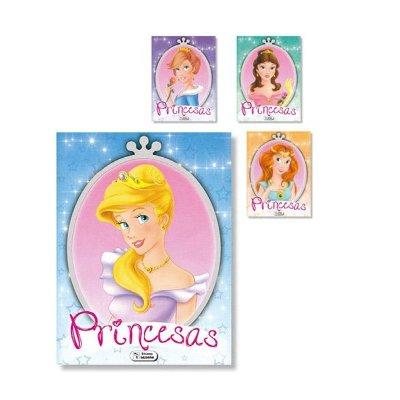 Libros Colorea Princesas 21x28cm 12 pgnas