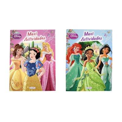 Libro Maxi actividades Princesas Disney 22,5x17cm