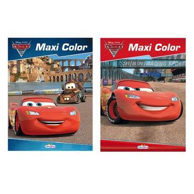Libros Maxi Color Cars 17x22.5cm 96 páginas 1 adhesivas