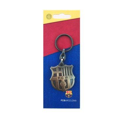 Llavero vintage cobre escudo F.C. Barcelona