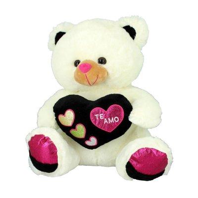 Peluche oso c/corazón Te Amo 20cm