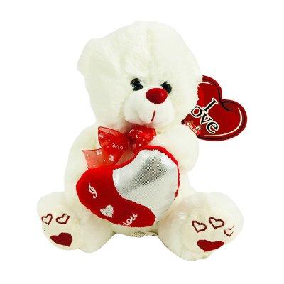 Peluche oso corazón LOVE 20cm