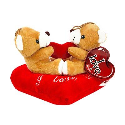 Peluche osos con corazón 16cm