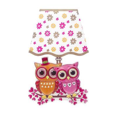 Mini lampara LED pared Búhos