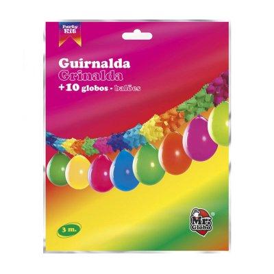Wholesaler of Guirnalda de fiesta decoración c/globos