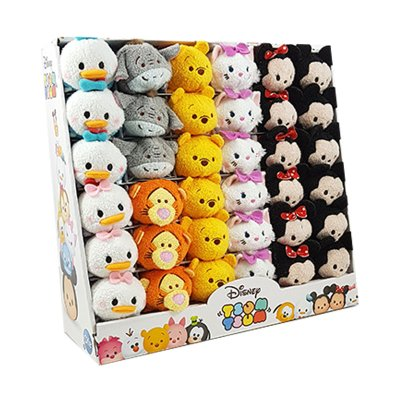 Peluches Disney Tsum Tsum mini 8cm - set 1
