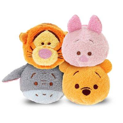 "Peluches Disney Tsum Tsum mini 8cm 3"" - set 2"