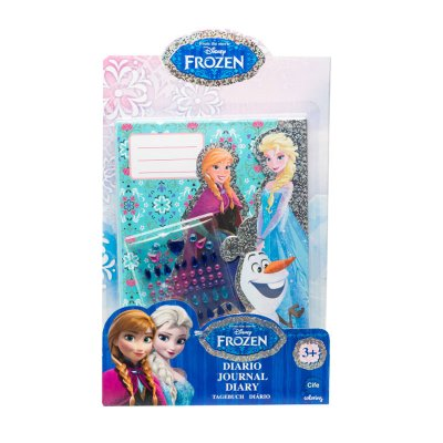 Diario Holográfico Frozen