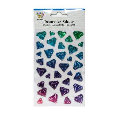 Pegatinas 3D Diamantes
