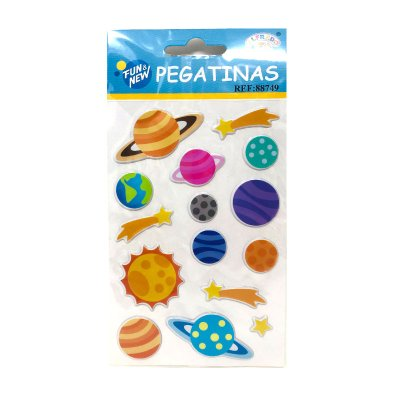 Wholesaler of Pegatinas 3D Planetas