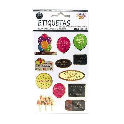 Wholesaler of Etiquetas de felicitación Catalán