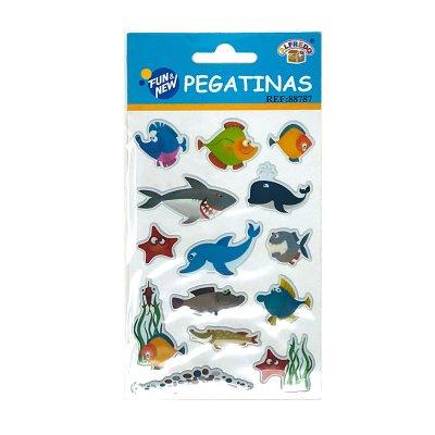 Wholesaler of Pegatinas 3D Mundo marino